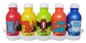Reduce 01308 Waterweek Kids Lil Monsters Waterbottle, Set of 5
