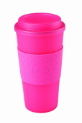 Copco 2510-0410 Acadia Travel Mug, 470ml, Translucent Pink