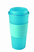 Copco 2510-0411 Acadia Travel Mug, 470ml, Translucent Teal