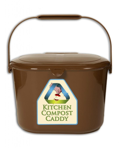 kitchen compost caddy orbis vented compost bucket with. Black Bedroom Furniture Sets. Home Design Ideas