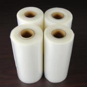 4 Large 20.3cm x 50' Vacuum Sealer Rolls Commercial Grade Food Saver Sealer Bags