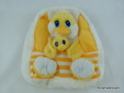 Partyerasers Baby Childrens Toddlers Cute Animal Backpack Rucksack - Yellow Chicken & Chick Design