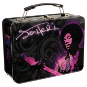 Vandor LLC 34170 Jimi Hendrix Large Tin Tote, 9 by 8.9cm by 19.1cm , Multicoloured