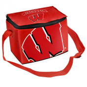 NCAA Wisconsin Badgers Big Logo Team Lunch Bag