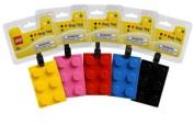 Lego 'Brick Shaped' Assorted School Luggage Tag