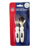 NFL Football St. Louis Rams Baby Eating Utensils Fork and Spoon