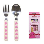 Great Gizmos Bunnykins Sweetheart Spoon and Fork Set