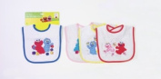 Sesame Street Applique Chin Bib-1 assorted design