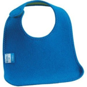 Built NY Comfy Bib - Lagoon Blue / Leaf Green