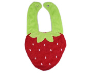 3d Kids Baby Girl Boy Toddler Bibs Cute Cartoon Strawberry Soft Saliva Towel