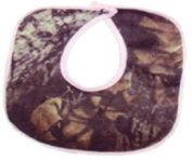 Bonnie & Childrens Sptwr Camo Bib W/Pink Trim Revers M