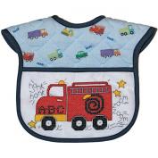DMC BB4992EA-4601 Bib Baby Quilt, Fire Truck