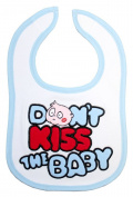 Baby bib - DKTB Blue Bubble Bib