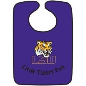 Lsu Tigers Two-Toned Snap Baby Bib