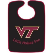 Virginia Tech 2-Tone Snap Baby Bib