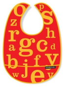 Crocodile Creek Letters Bib - Red