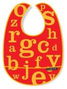 Crocodile Creek Letters Bib - Red