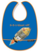 Crocodile Creek 3-2-1 Blast Off Baby Bib