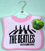 The Beatles Abbey Road Bib ~ Pink