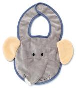 Teddykompaniet Diinglisar Wild Elephant Baby Bib (Haklapp) - 1699