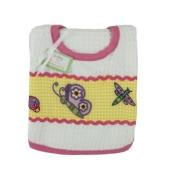 Baby Bib & Burp Cloth Set - Butterfly