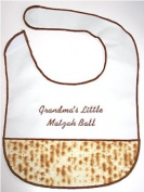 Grandma's Little Matzah Ball Jewish Baby Bib