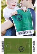 Goalie Soccer Burp Cloth