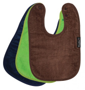 Standard Wonder Bib, 3 pack - Navy, Lime, Chocolate