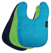 Standard Wonder Bib, 3 pack - Lime, Navy, Teal
