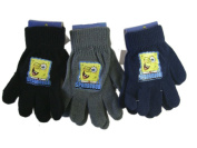 Nickelodeon Spongebob Squarepants Black Magic Stretch Spongebob Gloves - Spongebob Mittens