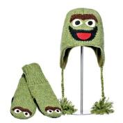 Knitwits Sesame Street Oscar Mittens