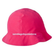PINK INFANT/TODDLER HAT WITH UV PROTECTION AND CHIN STRAP