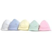 Organic Baby Cap - White Hat