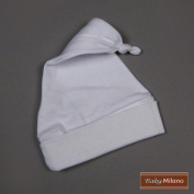 Knotted Hat in White