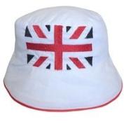 Powell Craft Union Jack Baby Hat Sun Hat