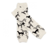 Warmer Cartoon Baby Girl Boy Newborn Toddler Knee Bootie High long Socks Cotton Leggings Leg Pattern Cartoon Horse K10