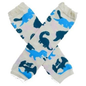 Dino-mite Dinosaurs - So Sydney Brand Leg Warmers - for my Infant, Baby, Toddler, Little Girl or Boy