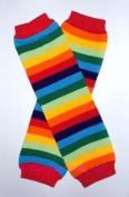 KerrBear Kids - Rainbow Leg Warmers
