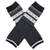 Fair Isle Grey - So Sydney Brand Leg Warmers - for my Infant, Baby, Toddler, Little Girl or Boy