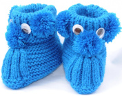 Knit Puppy Booties, Size