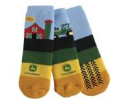 John Deere Infant/Toddler Farm Slipper Socks