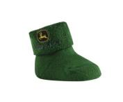 John Deere Infant Terry Sock/Bootie Green