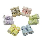 Cutie Face Baby Socks - Purple