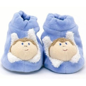 Furnis Blue Baby Booties