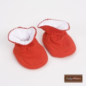 Baby Booties in Red