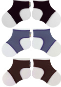 Sock Ons Clever Little Things That Keep Baby Socks On! 3 Pack Neutrals 0 - 6 Months