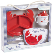 Baby Aspen - Crabby Baby Mealtime Gift Set
