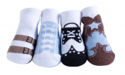 JazzyToes Bamboo Newborn - Variety Boys for Newborns