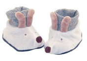 Moulin Roty Baby Slippers, Mouse