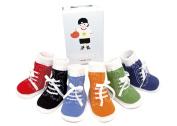 Trumpette Johnny's Sneaker Socks - Brights - 12-24 Months